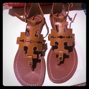 Tory Burch Shoes - Tory Burch Phoebe Flat Sandals Size 8